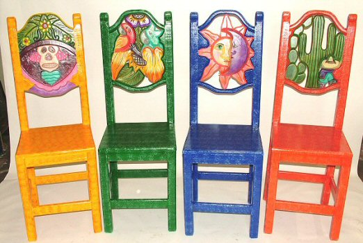 Equipal Furniture Equipale Carved Painted Furniture