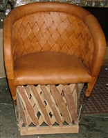 Mexican Equipal Handmade Chair