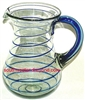 Mexican Glassware -  Bola Pitcher