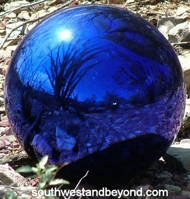 Glass Gazing Ball  Garden Globe Sphere