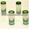 Mexican Glassware - Handmade Shot Glasses