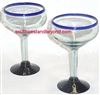 Handmade Mexican Glassware - Margarita Glass