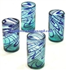 Mexican Glassware - Tall Glass