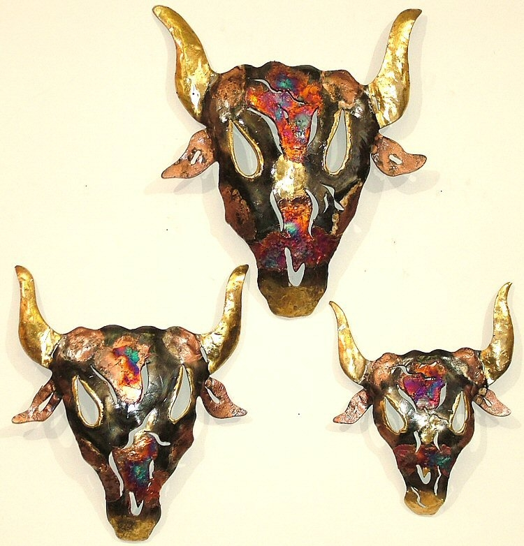 Metal Wall Decor Animals : Wall art tin copper animals tropical decor