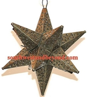 Rustic Mexican Tin Hanging Stars
