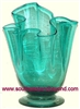 Mexican Art Glass Vase