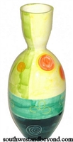 Colorful Cruve Shape Vase