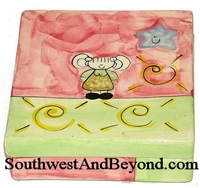 Hand Painted Square Keepsake
