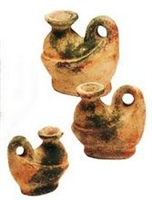 Clay 3pc Mexican Pottery Set