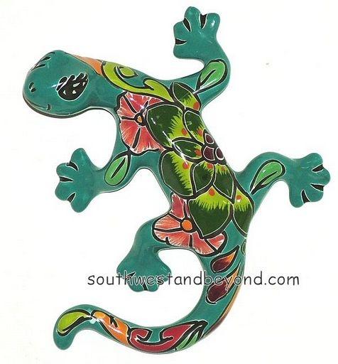 Geckos Lizards Clay Talavera Gecko Wall Art