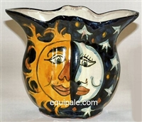 Mexican Talavera Pottery Planters hand made hand painted