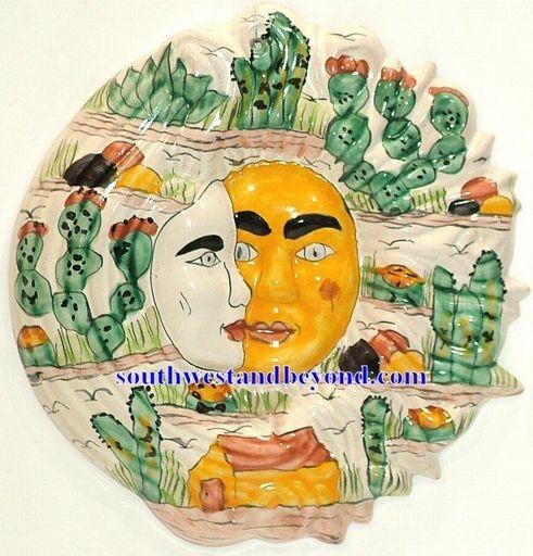 Talavera Plates Wall Art Decorative Mexican Wall Decor