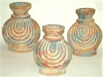 Clay 3 Piece Mexican Pottery Set