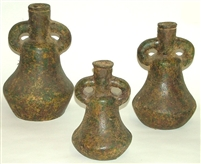 Clay 3pc Pot Vase Set
