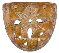 Rustic Clay Wall Sconce Light Cover