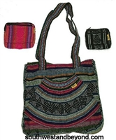 This bag is conventional and stylish. The Vibrant colors on each purse will match with any outfit making it a fun accessory. A Perfect over the shoulder hand woven Mexican handbag makes this purse a keeper!
