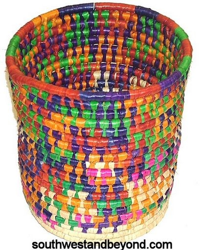 Palm baskets traditional mexican folk art for Mexican arts and crafts for sale