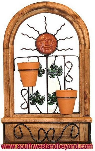 Rustic Window Frame Wall Decor : Rustic wall decor arched window frame