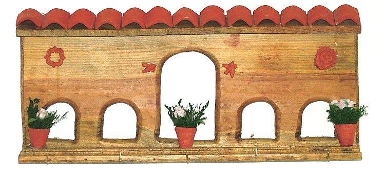 Rustic Arch Wall Decor : Rustic wall decor arched window frame