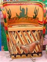 Mexican Equipal Handmade Chair