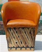 ... Mexican Equipal Handmade Chair ...