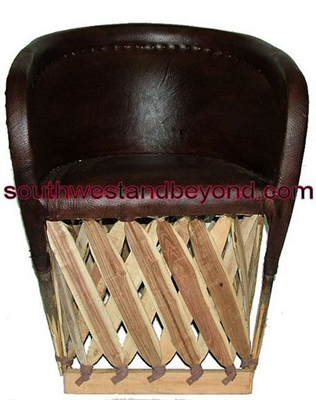 Equipal Pigskin Mexican Equipal Handmade Chairs