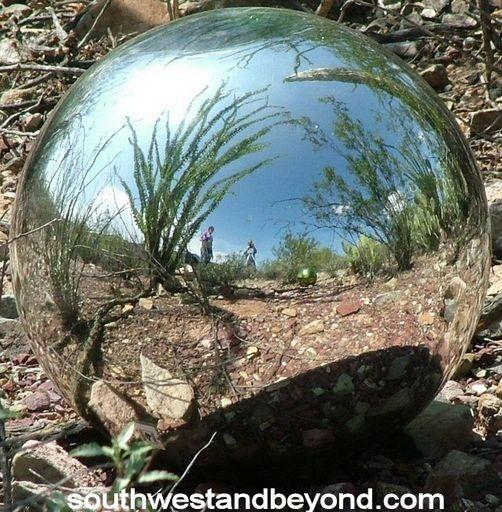 Glass Gazing Ball Garden Globe Sphere