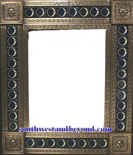 tin framed hand hammered 29\