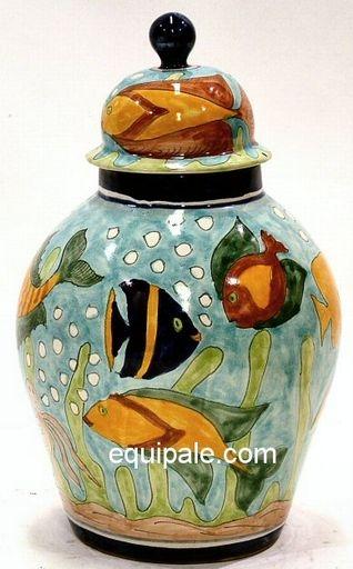Mexican Talavera Tibor Pots And Vases