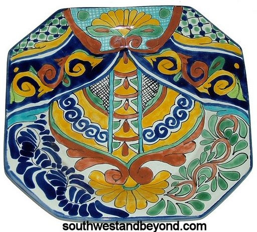 List Price $33.00  sc 1 st  Southwest and Beyond & Talavera Plates Wall Art Decorative Mexican Wall Decor