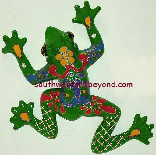 List Price $55.00  sc 1 st  Southwest and Beyond & Frog Wall Art Clay Talavera Wall Art Frogs
